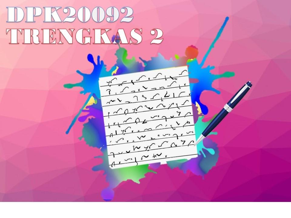 DIS2020   DPK20092 TRENGKAS 2